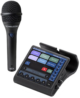TC-Helicon VoiceLive Touch MP75 Bundle