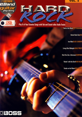 Hal Leonard Boss eband Hard Rock Vol.3