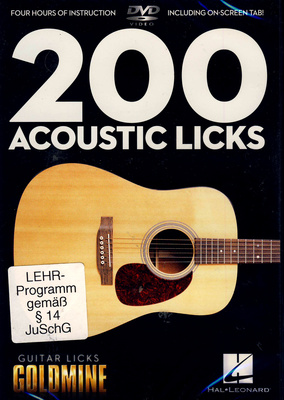 Hal Leonard 200 Acoustic Guitar Licks