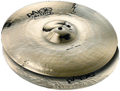"Paiste 15"" Twenty Custom Metal Hats"