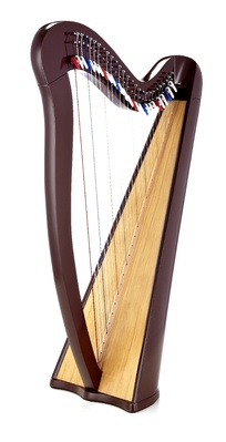 Roth & Junius RJCH-27BR Celtic Lever Harp