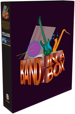 PG Music Band-in-a-Box Pro PC E