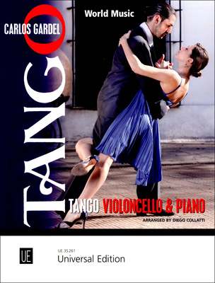 Universal Edition Tango for Cello and Piano