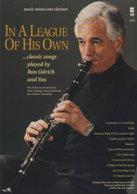 Music Minus One Clarinet A League Of His Own