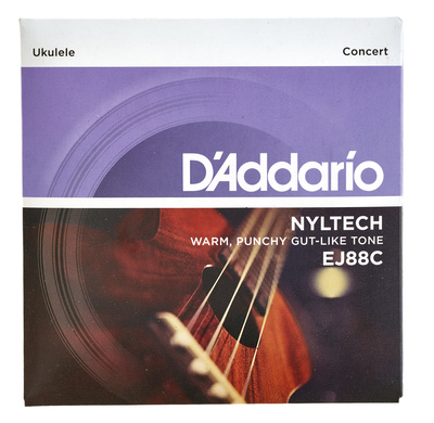 Daddario EJ88C Nyltech Concert Ukulele