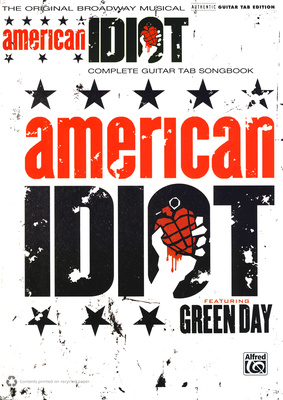 Alfred Music Publishing Musical American Idiot Guitar