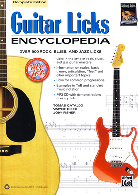 Alfred Music Publishing Guitar Licks Encyclopedia