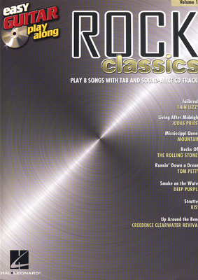 Hal Leonard Easy Guitar Play-Along Rock
