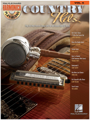 Hal Leonard Harmonica Play-Along Country