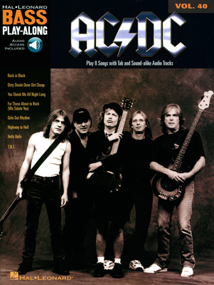 Hal Leonard Bass Play-Along | AC/DC