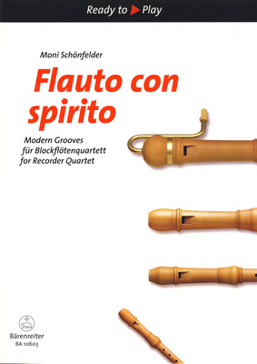 Brenreiter Flauto Con Spirito f.Recorder