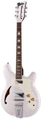 Italia Guitars Rimini 6 White