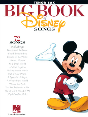 Hal Leonard The Big Book Of Disney Tenors.
