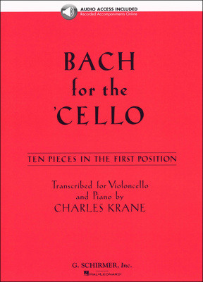 G. Schirmer Bach For The Cello
