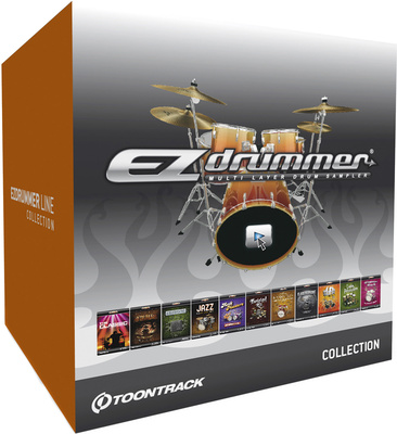 Toontrack EZ Drummer Line Collection