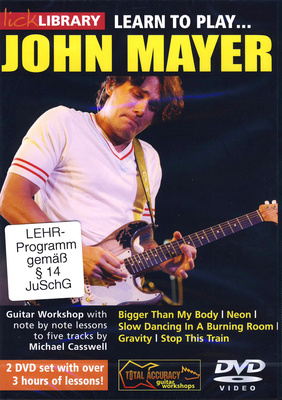 Music Sales Learn to play John Mayer