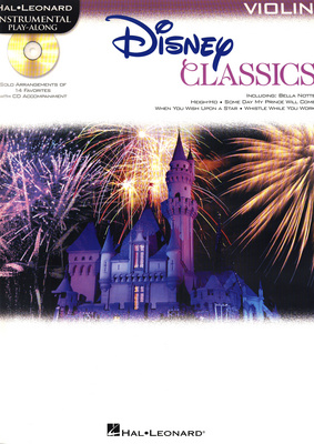 Hal Leonard Disney Classics for Violin