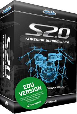 Toontrack Superior Drummer 2.0 EDU