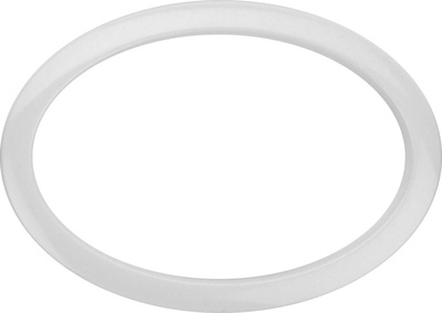 "Bass Drum O's 6"" White Oval HOW6"