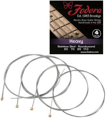 Fodera 4-String Set Heavy Steel