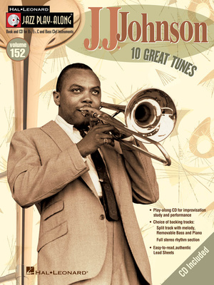 Hal Leonard Jazz Play Along J.J.Johnson