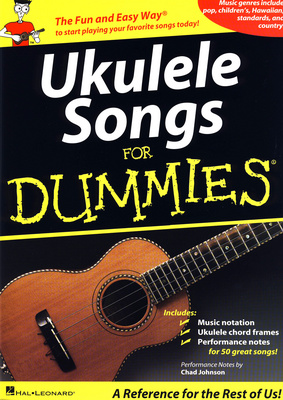 Hal Leonard Ukulele Songs For Dummies
