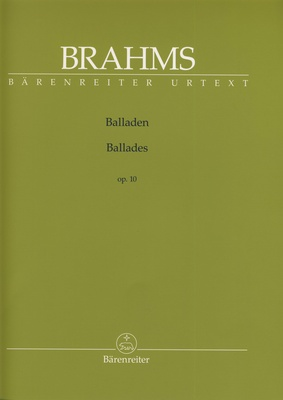 Brenreiter Brahms Balladen op.10