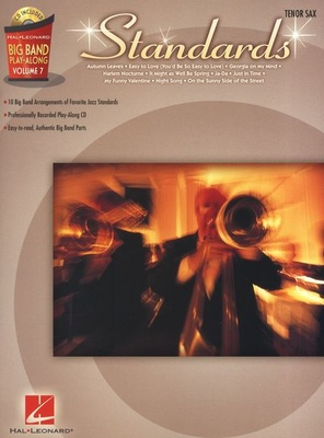 Hal Leonard Big Band Standards T-Sax