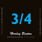 Harley Benton Double Bass Strings 3/4