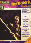 Hal Leonard Blues Play-Along Jimi Hendrix